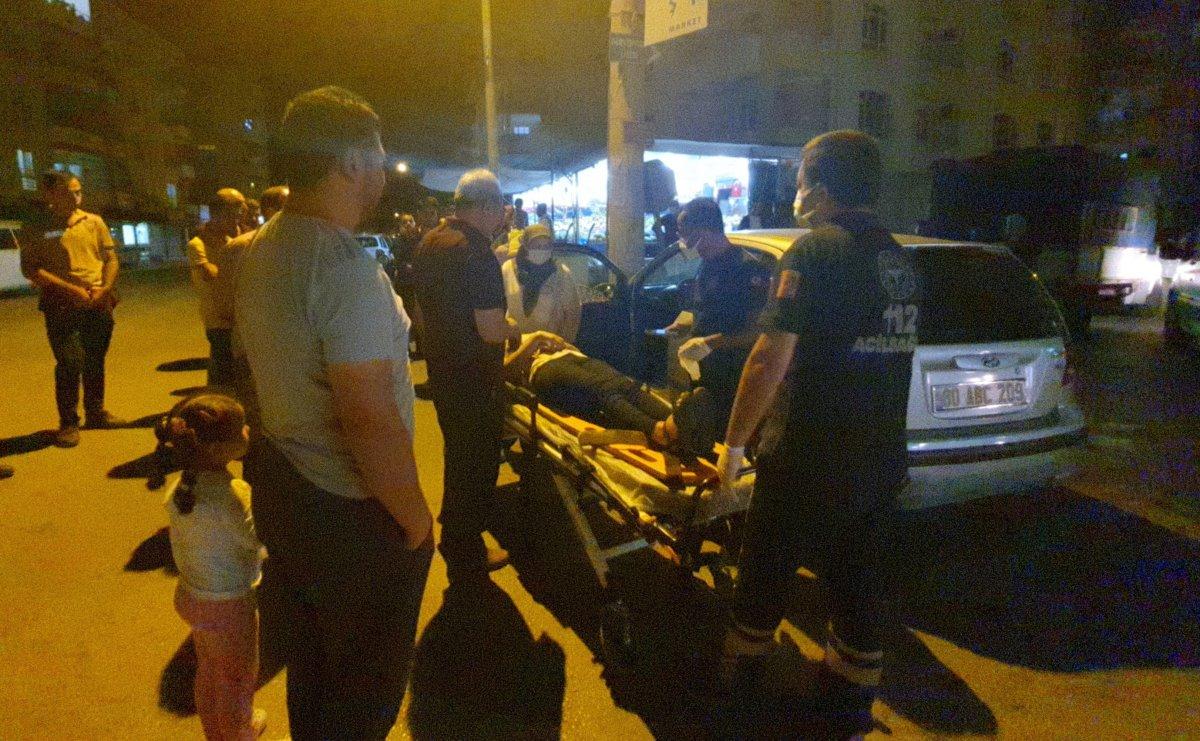 Osmaniye de iki araç çarpıştı: 3 yaralı #2