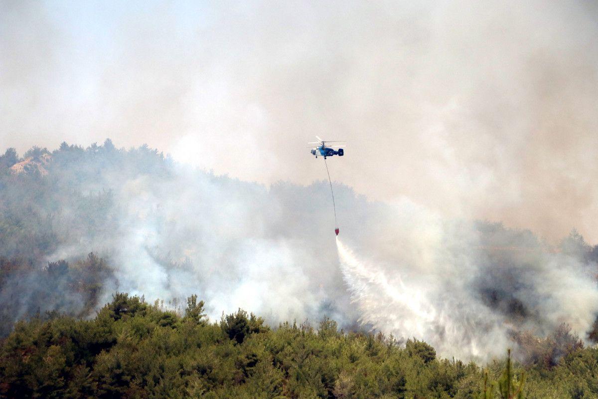 PKK lı terörist, orman yangını çıkarma talimatı aldığını itiraf etti #4