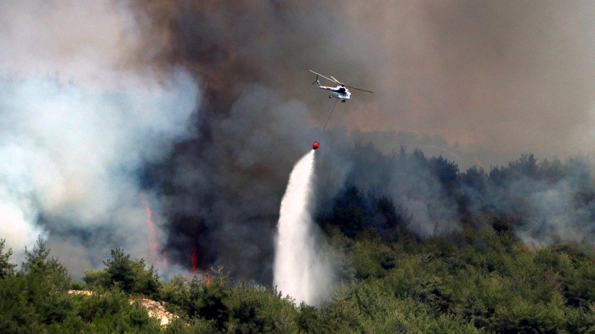 PKK'lı terörist, orman yangını çıkarma talimatı aldığını itiraf etti