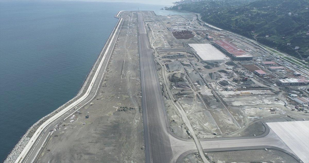 Rize-Artvin Havalimanı nda test uçuşu için geri sayım #8