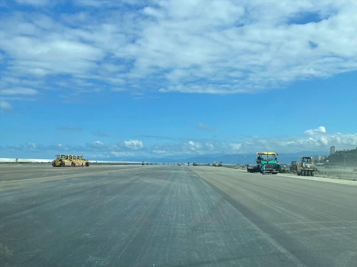 Rize-Artvin Havalimanı nda test uçuşu için geri sayım #9