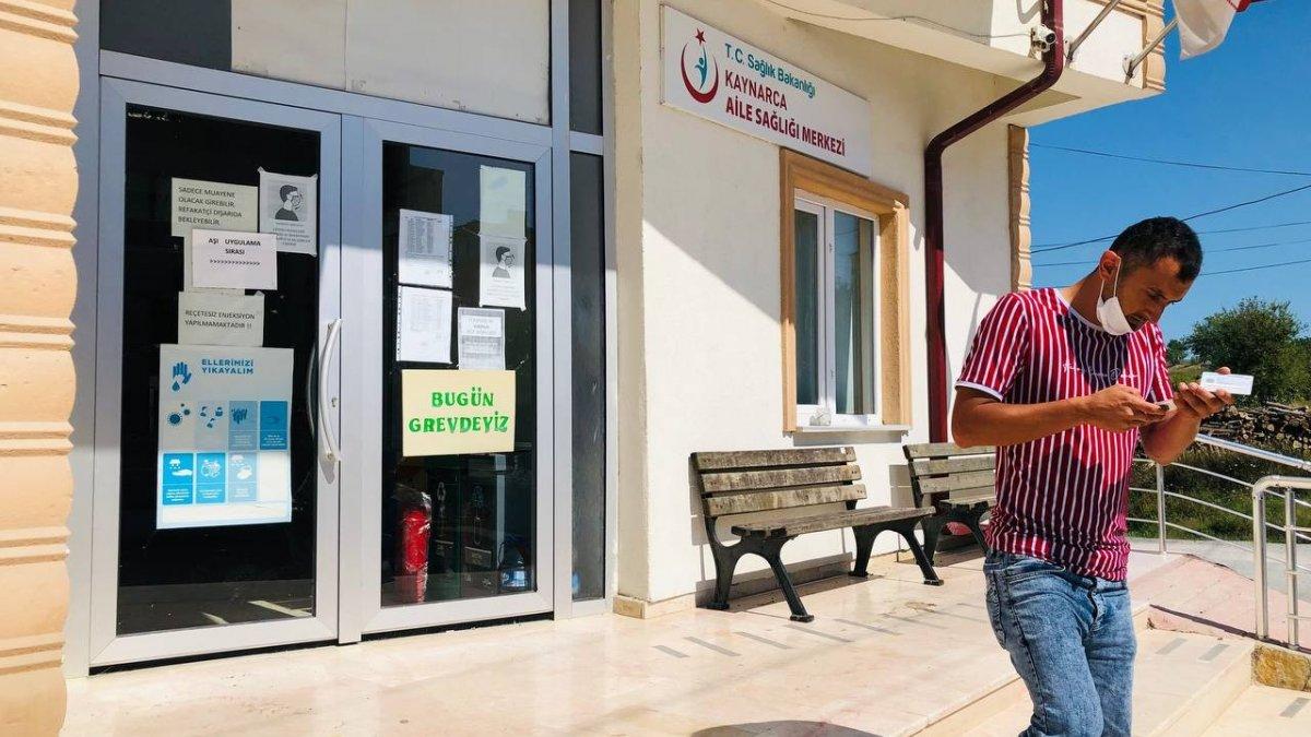 Sakarya'da aile hekimleri iş bıraktı