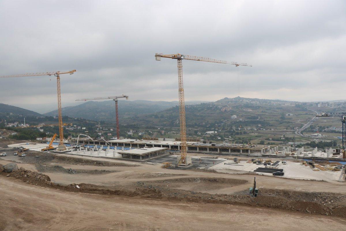 Samsun Şehir Hastanesi, adım adım inşa ediliyor #4