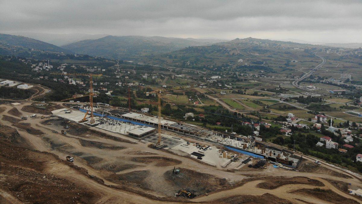Samsun Şehir Hastanesi, adım adım inşa ediliyor