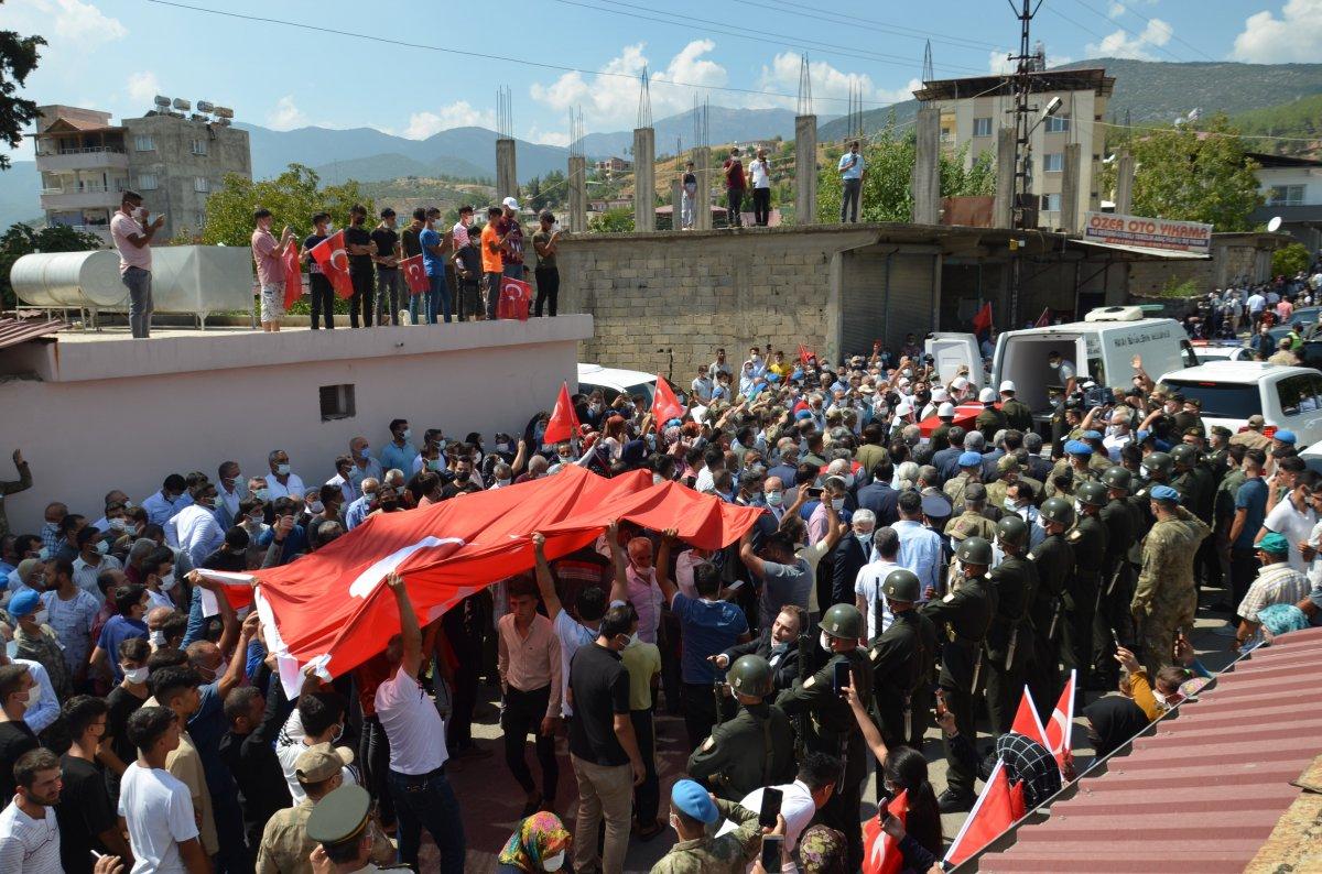 Şehit Turgay Abacı Hatay'da son yolculuğuna uğurlandı #3