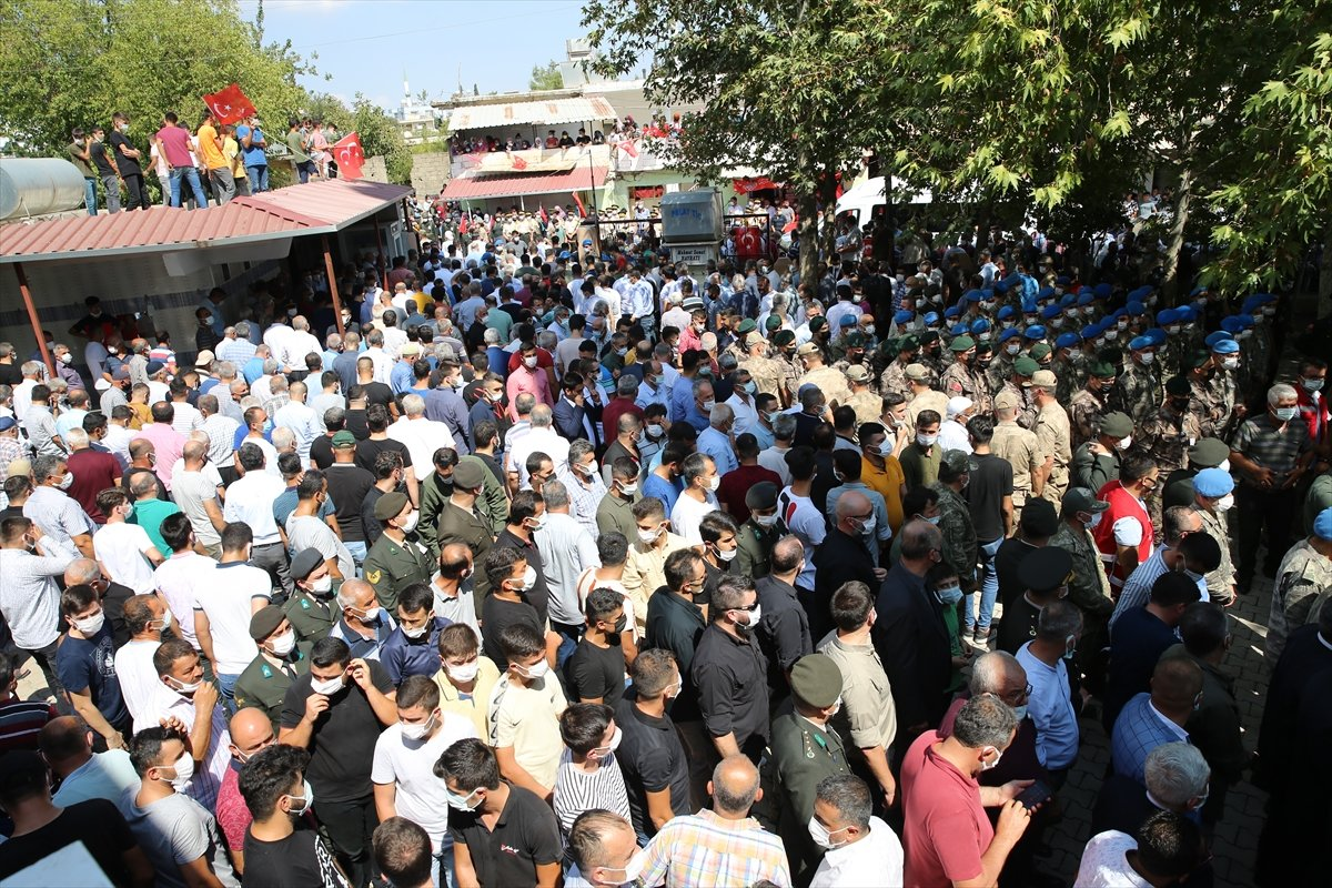 Şehit Turgay Abacı Hatay'da son yolculuğuna uğurlandı #4