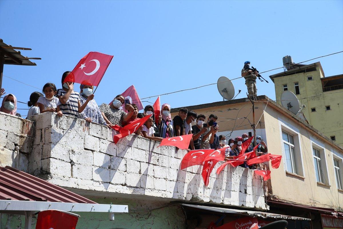 Şehit Turgay Abacı Hatay'da son yolculuğuna uğurlandı #5