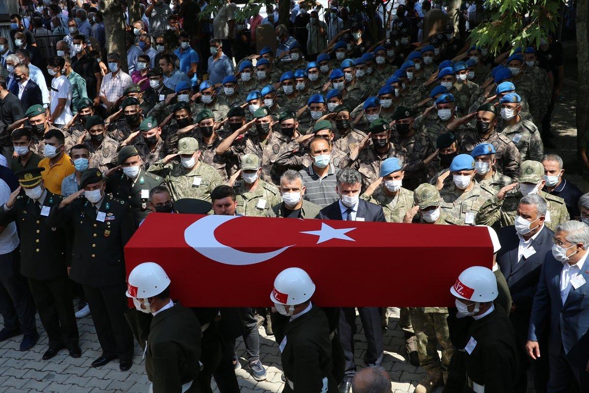 Şehit Turgay Abacı Hatay'da son yolculuğuna uğurlandı #12