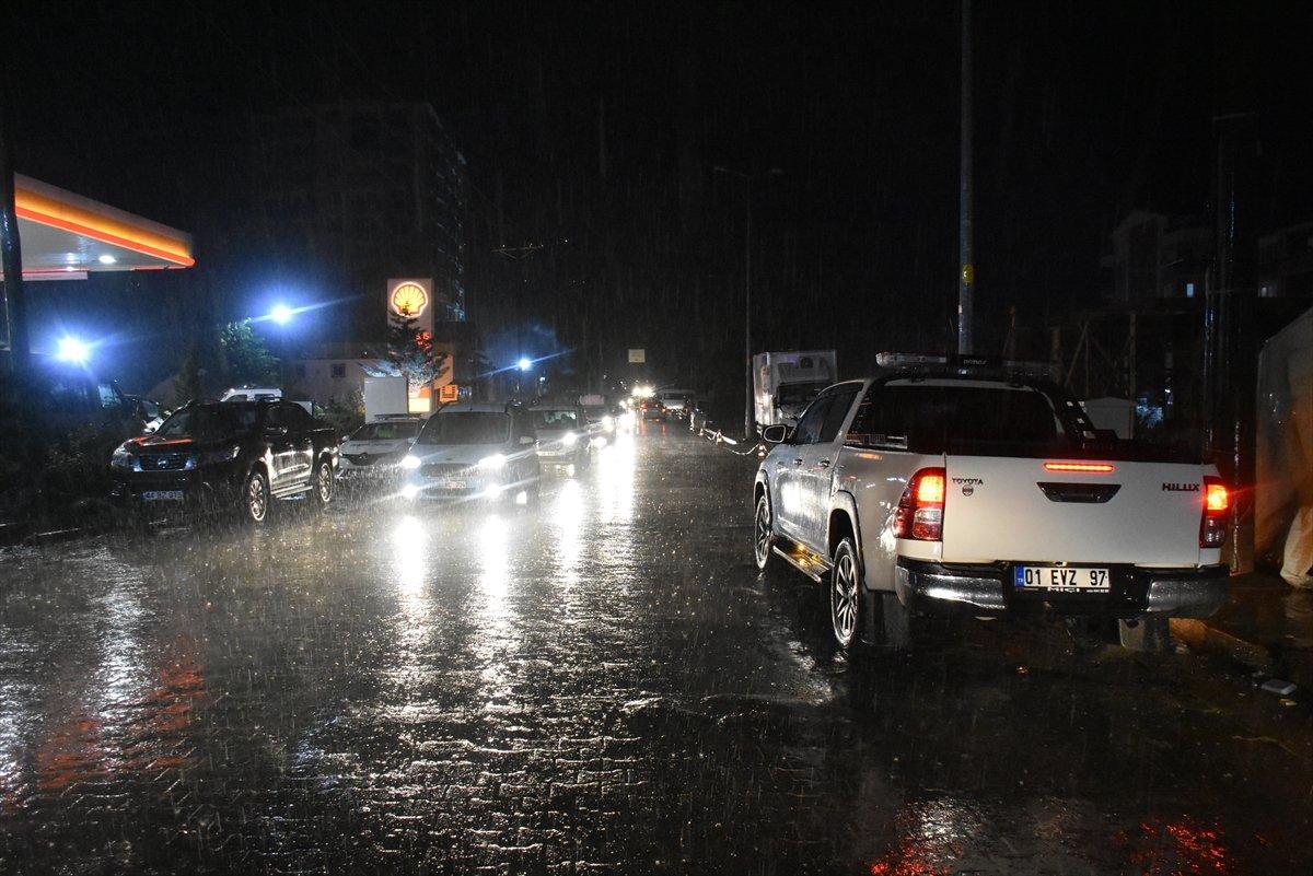 Sel felaketinin yaşandığı Kastamonu Bozkurt ta sağanak yağış #4