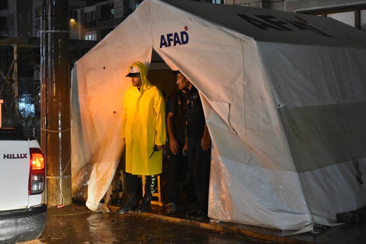 Sel felaketinin yaşandığı Kastamonu Bozkurt ta sağanak yağış #5