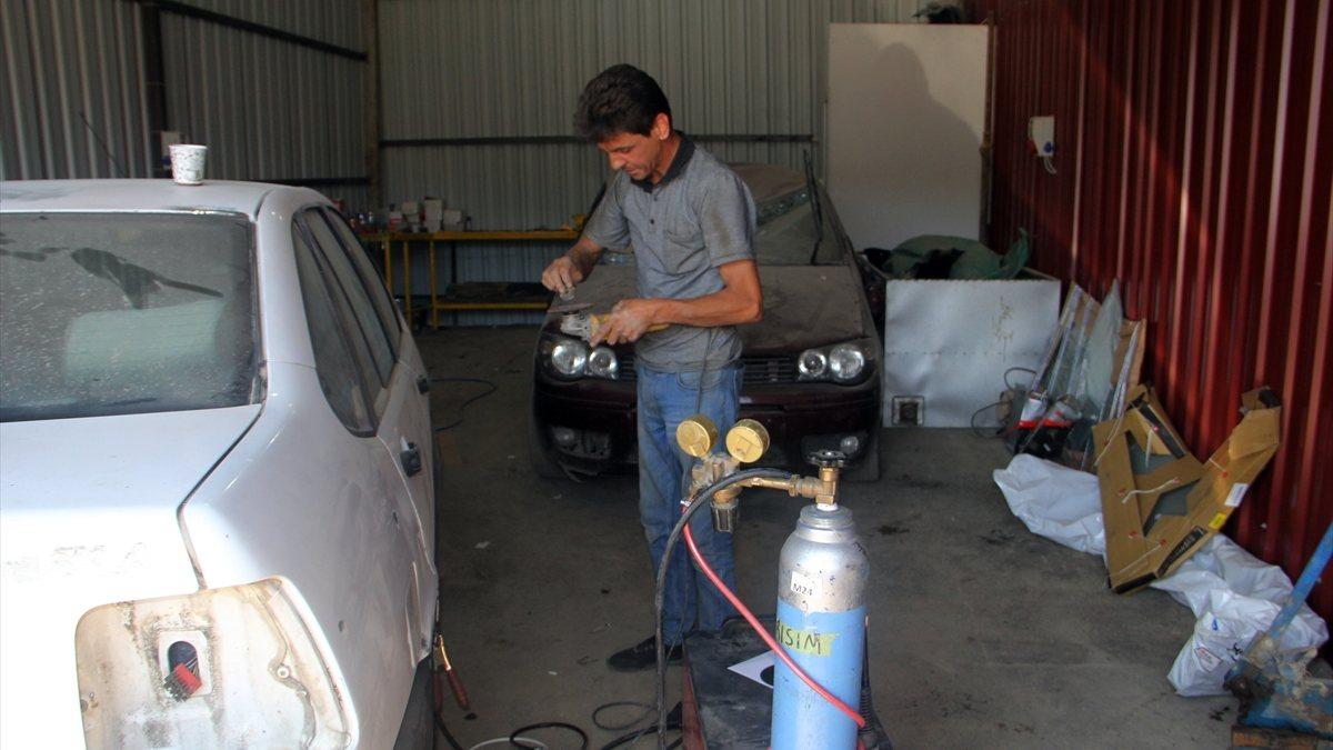 Sinop'ta sel mağduru esnaf, geçici iş yerlerine yerleştirildi