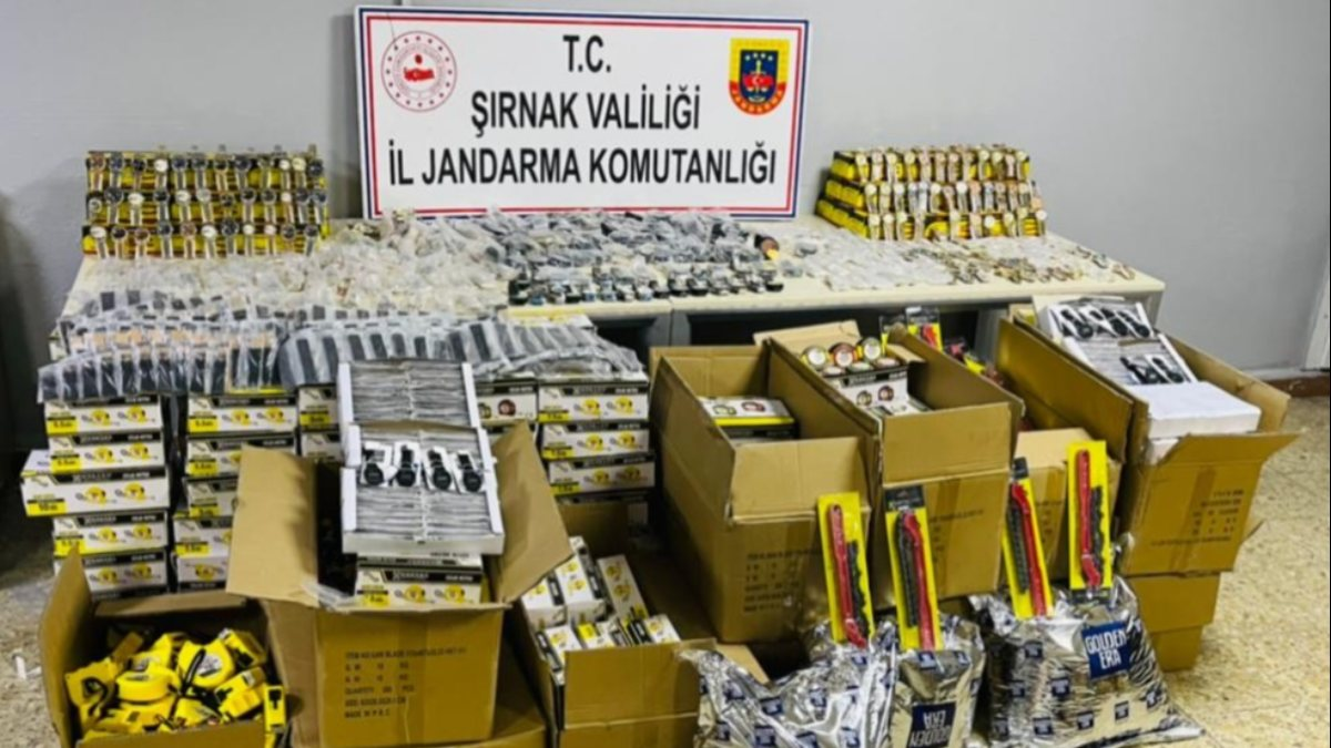 Şırnak'ta terör finansçılarına darbe: 84 gözaltı