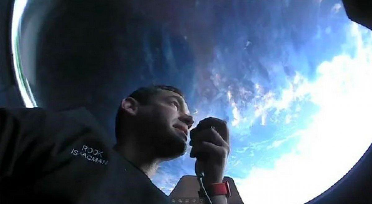 SpaceX in 4 amatör astronotundan ilk görüntüler paylaşıldı #2