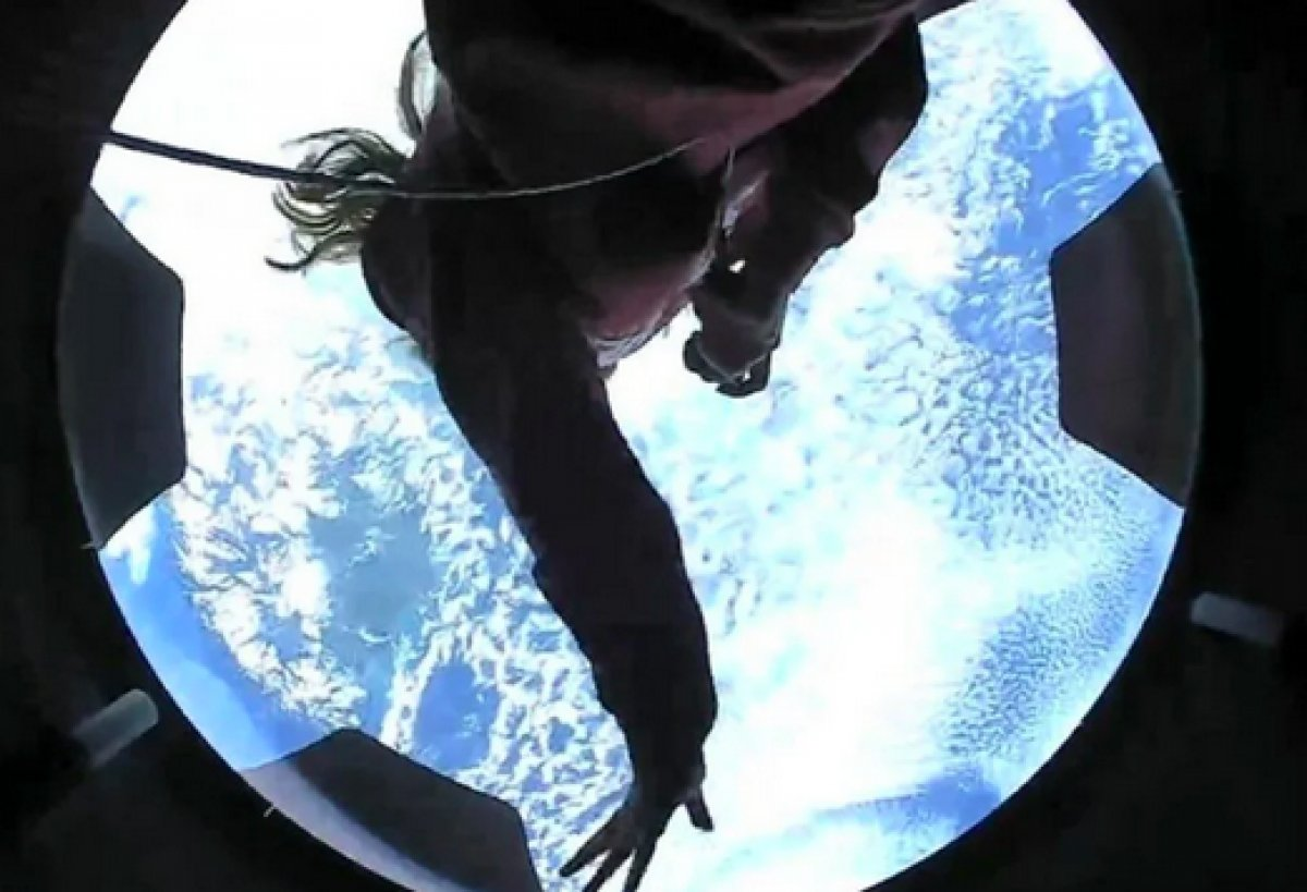 SpaceX in 4 amatör astronotundan ilk görüntüler paylaşıldı #4