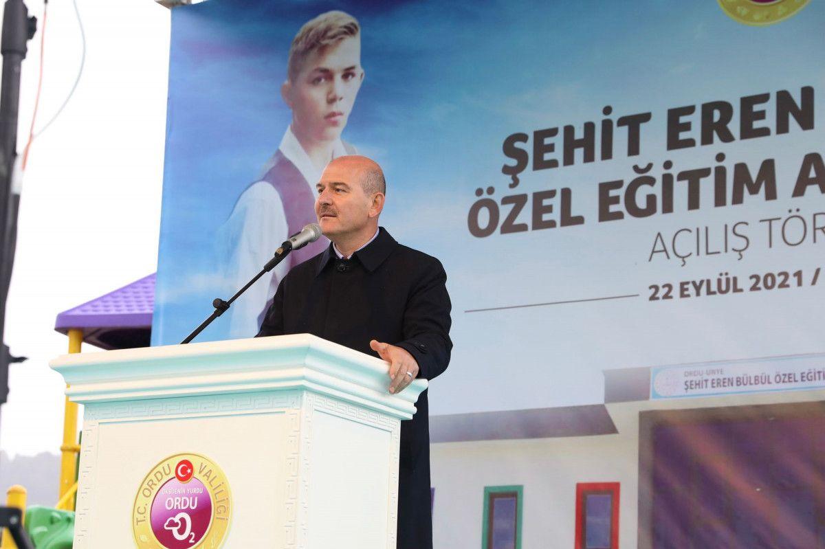 Süleyman Soylu, Eren Bülbül adına yapılan okulun açılışına katıldı #5