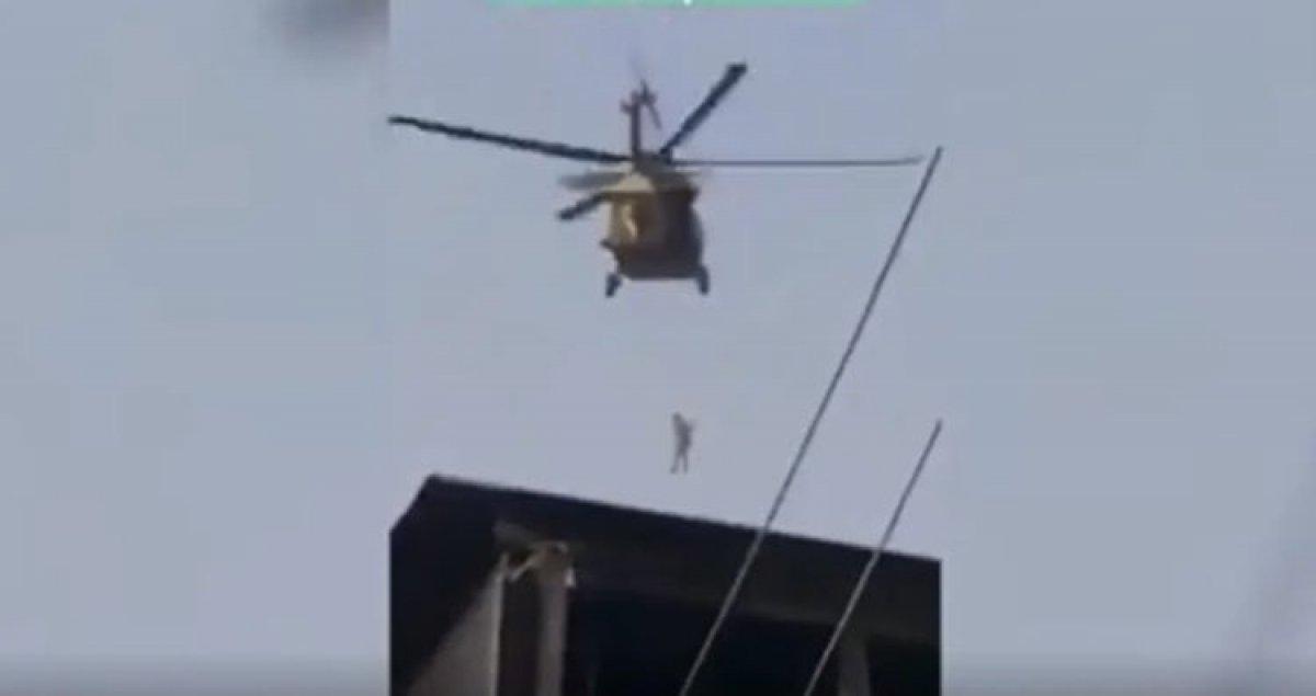 Taliban Amerika ya çalışan Afganları ABD ye ait helikopterlerle asıyor iddiası #2