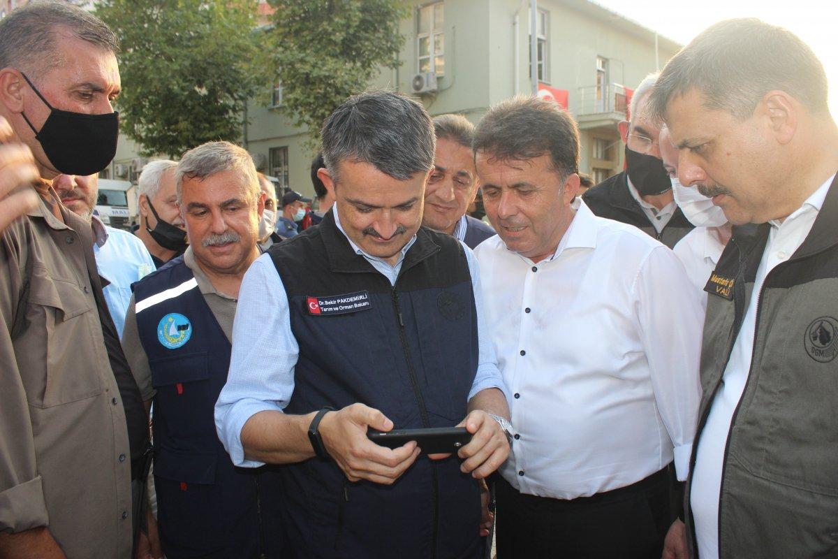 Tarım ve Orman Bakanı Bekir Pakdemirli Türkeli de #3