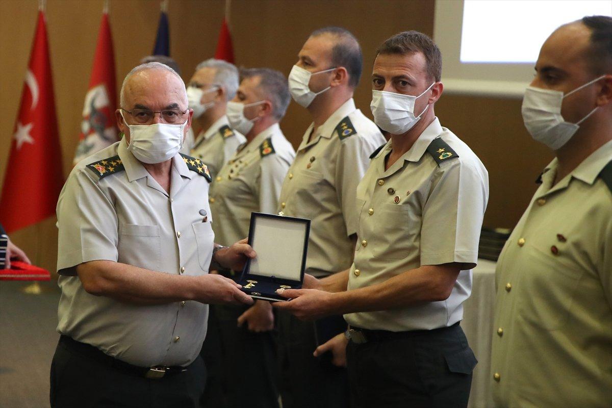 Terfi eden TSK personeli, rütbelerini aldı #4