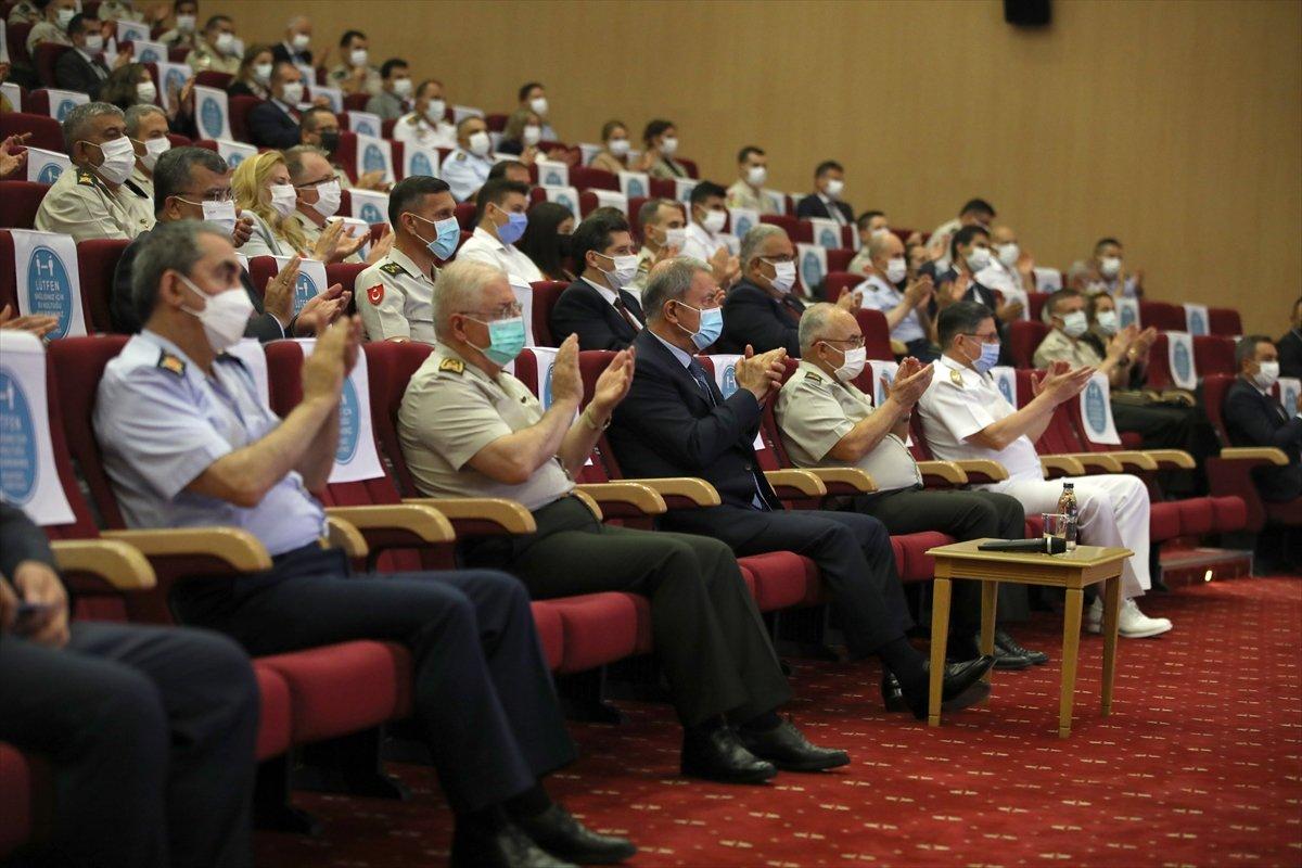 Terfi eden TSK personeli, rütbelerini aldı #8