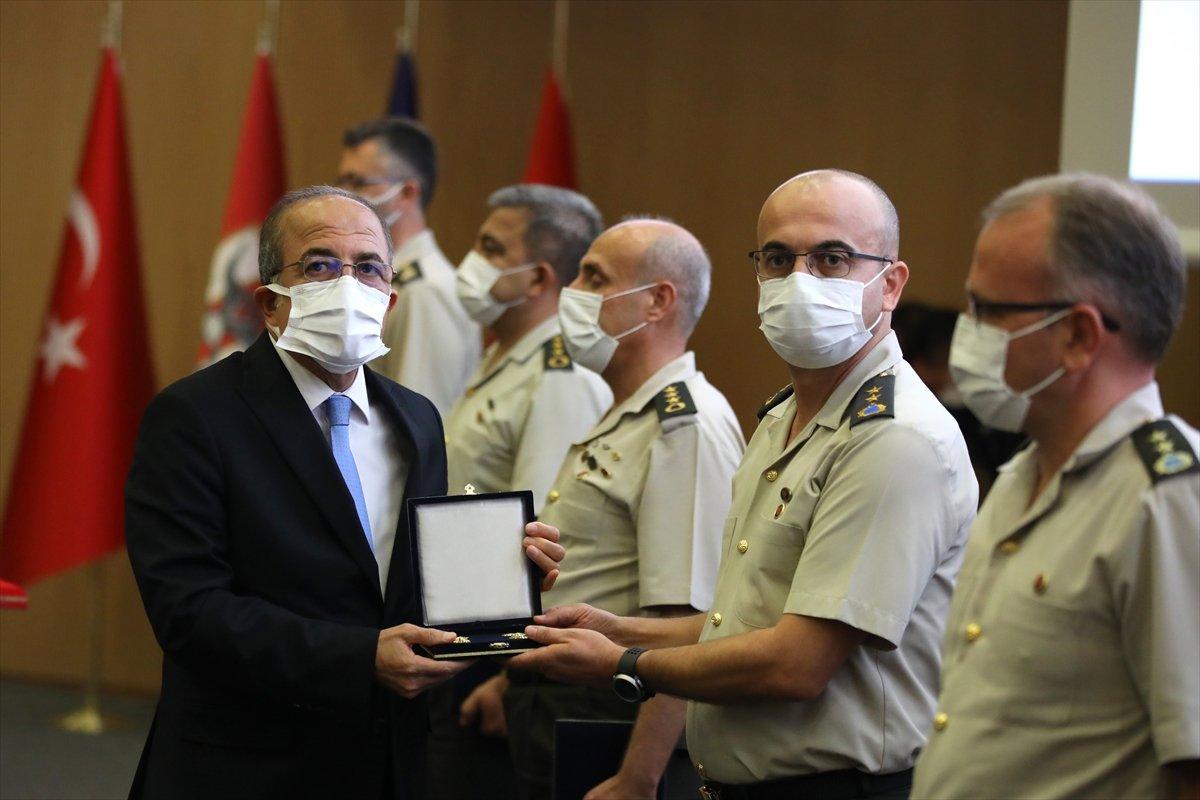 Terfi eden TSK personeli, rütbelerini aldı #9