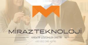Gaziantep merkezli hizmet veren Miraz Teknoloji hızlı yükselişini sürdürüyor!