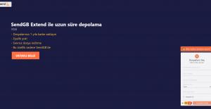 Yerli Dosya Transfer Sitesi SendGB