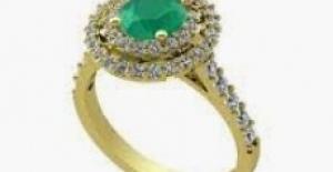 Mücevherde Zümrüt Zarifliği