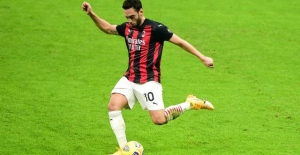 Milan Hakan'ın golüyle çeyrek finalde