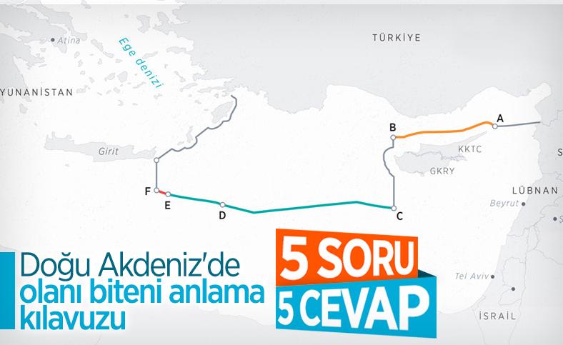 5 soruda Doğu Akdeniz'deki gelişmelerin özeti