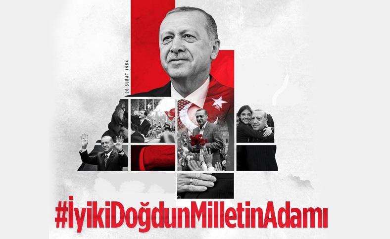 AK Parti'den Cumhurbaşkanı Erdoğan'a özel doğum günü klibi