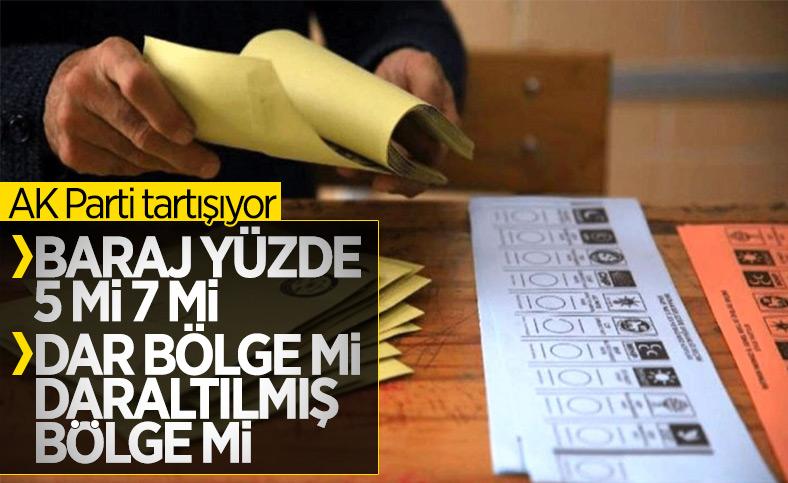 AK Parti seçim barajının düşürüleceğini doğruladı