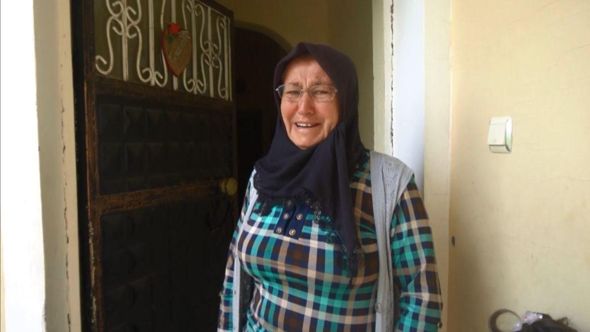 Aksaray'da jandarmadan asker annesine ziyaret