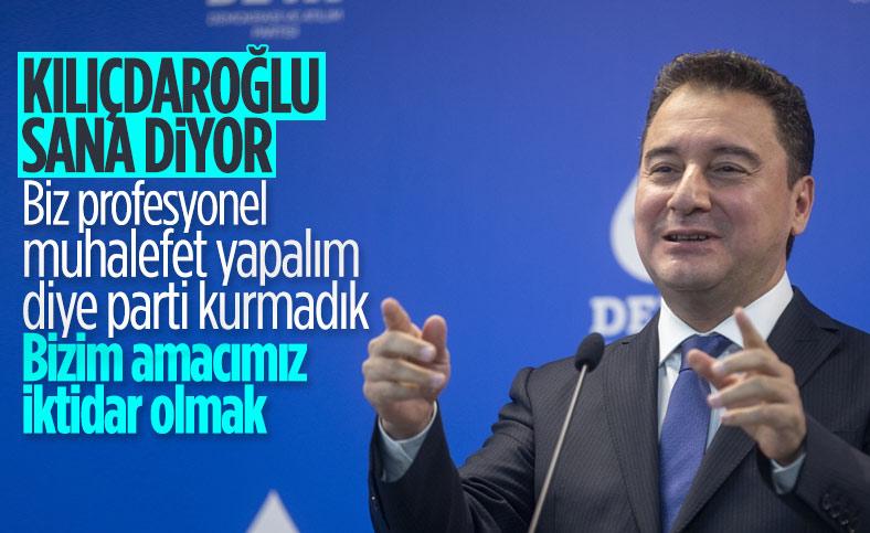 Ali Babacan'ın hayali: İktidar olacağız