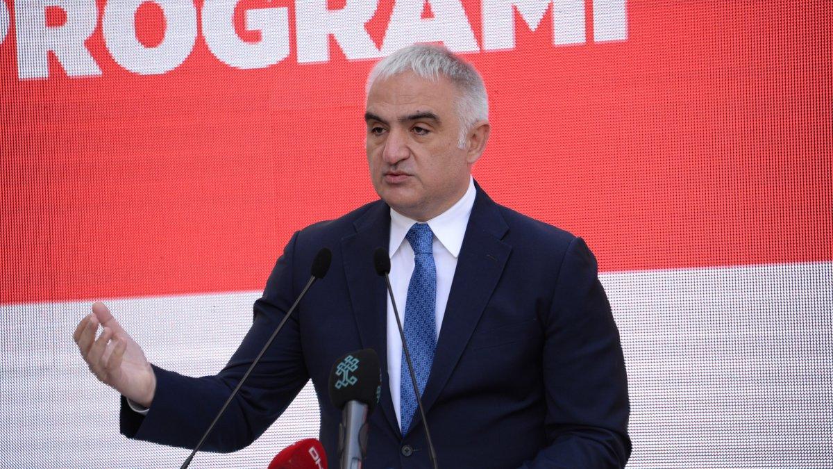 Bakan Ersoy: Şırnak'ın turizmden iyi pay alması için gerekenleri yapacağız