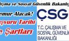 Çalışma ve Sosyal Güvenlik Bakanlığı Memur Alacak!