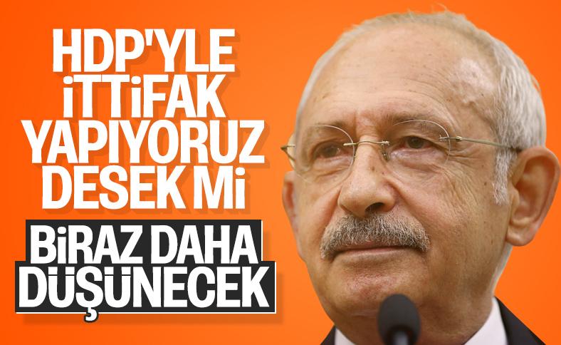 CHP, HDP ile açık ittifakı tartışıyor