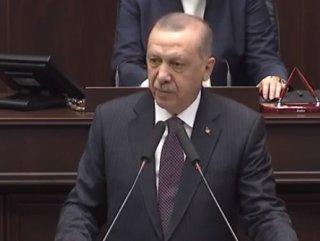Cumhurbaşkanı Erdoğan AK Parti Grup Toplantısı'nda