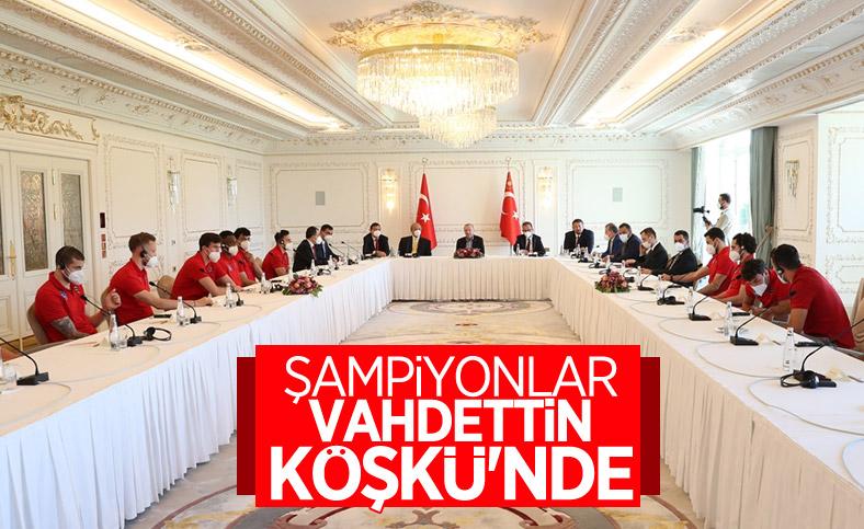 Cumhurbaşkanı Erdoğan, Anadolu Efes ile...