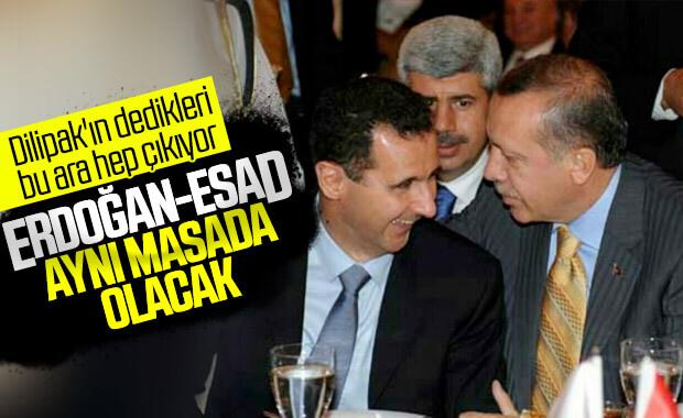Cumhurbaşkanı Erdoğan, Beşar Esad#039;la...