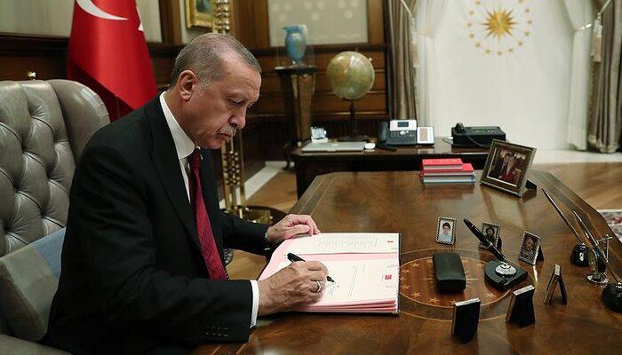 Cumhurbaşkanı Erdoğan imzasıyla atama...