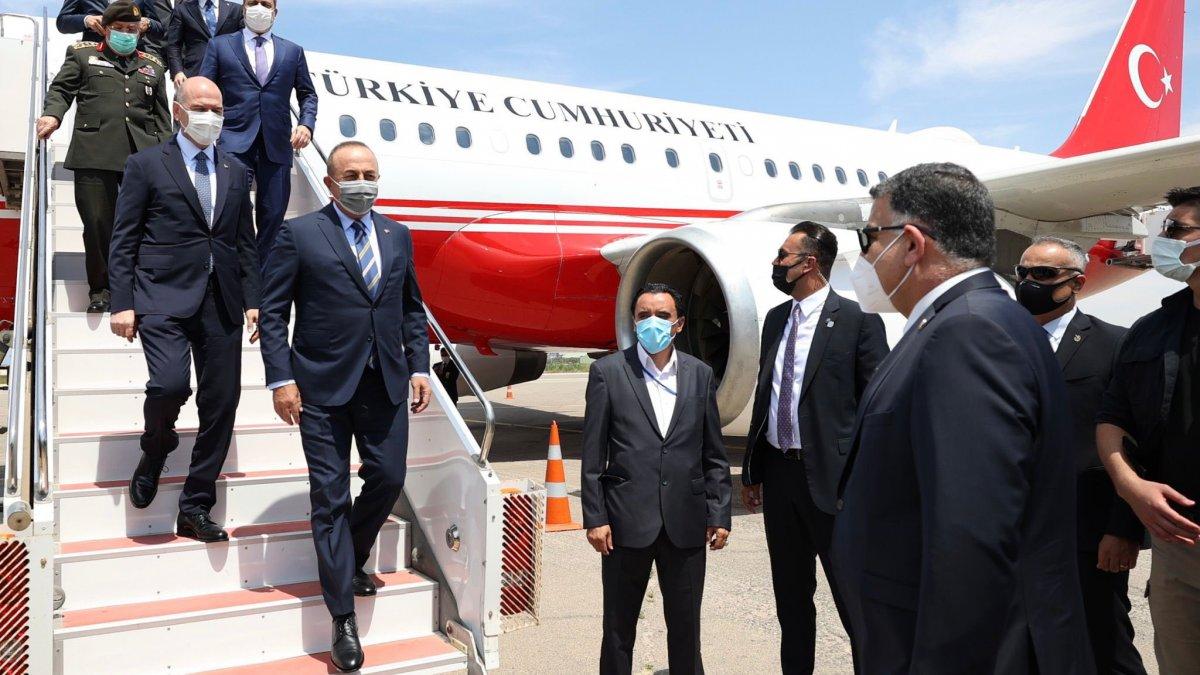 Cumhurbaşkanı Erdoğan'ın talimatıyla Türkiye heyeti Libya'ya gitti