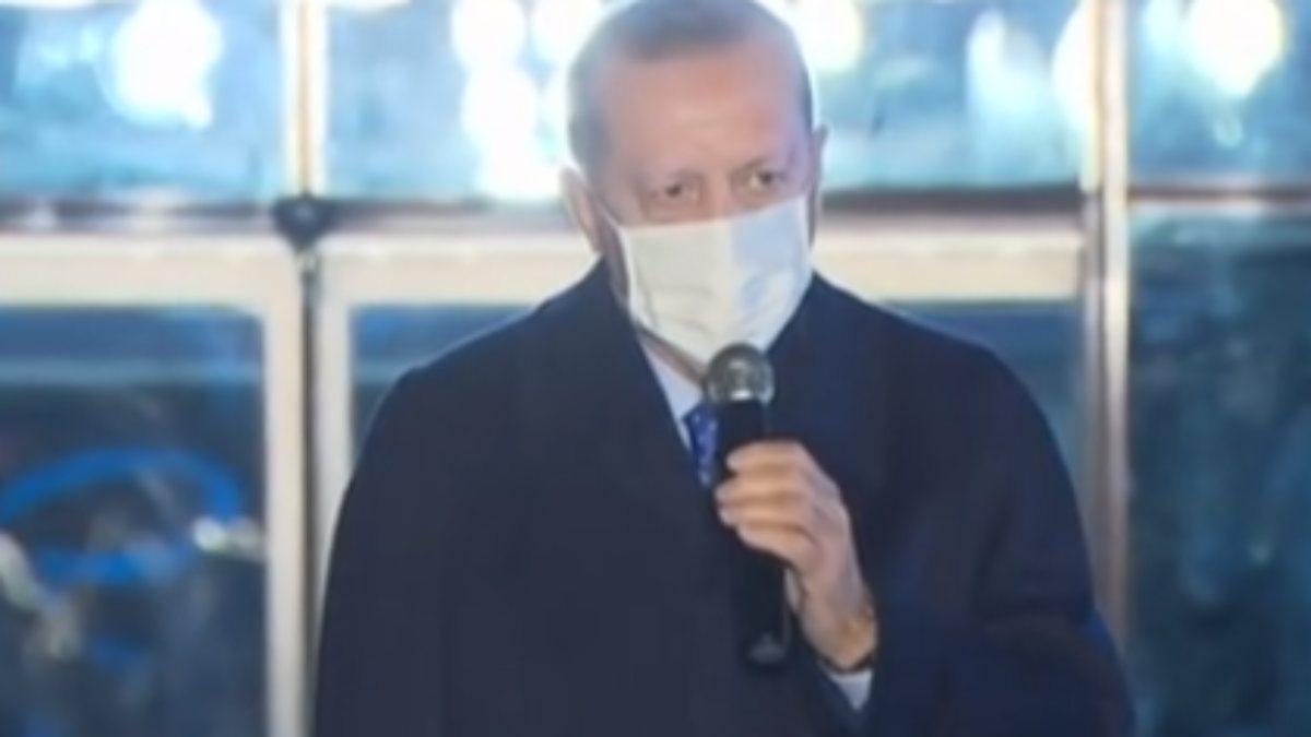 Cumhurbaşkanı Erdoğan, İpek Yolu Gençlik Merkezi'nin açılışına katıldı