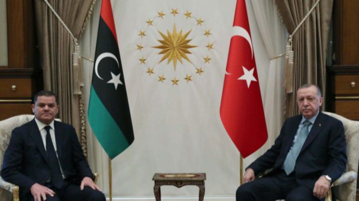 Cumhurbaşkanı Erdoğan, Libya Başbakanı...