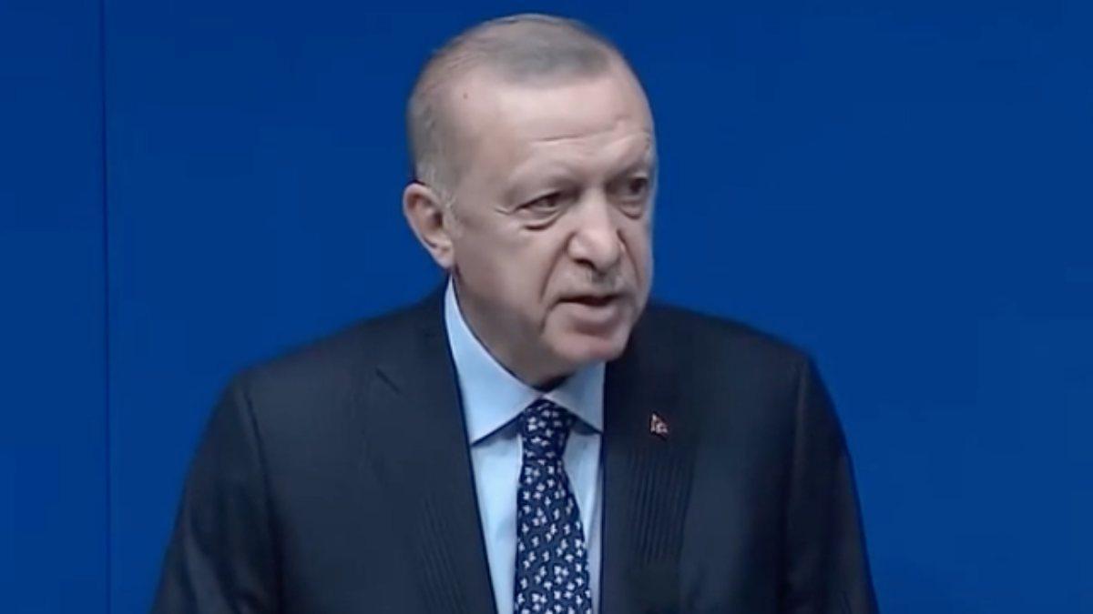 Cumhurbaşkanı Erdoğan, New York'taki Yeni Türkevi Binasında