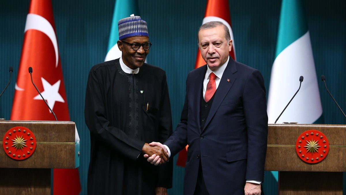 Cumhurbaşkanı Erdoğan, Nijerya Cumhurbaşkanı...