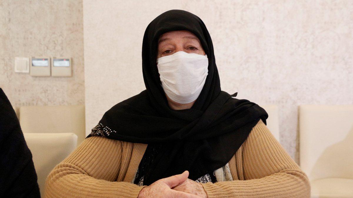 Diyarbakır'da evlat nöbetindeki anne: Gelmezsen, hakkımı helal etmiyorum