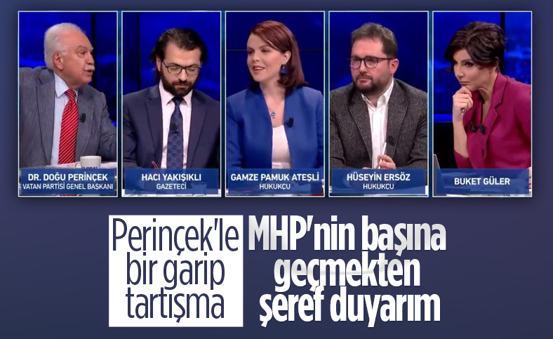 Doğu Perinçek: MHP'nin başına geçmekten şeref duyarım