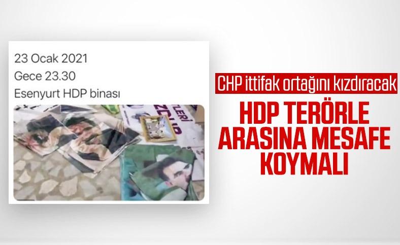 Faik Öztrak'tan Esenyurt'taki HDP binasıyla ilgili: Herkes terörle arasına mesafe koymalı