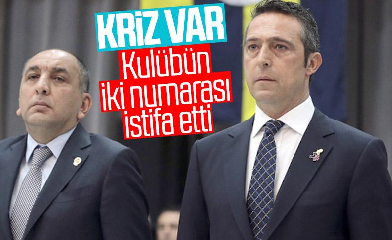 Fenerbahçe'de Semih Özsoy istifa etti