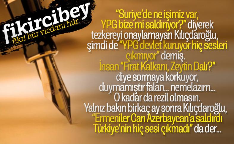 Fikirci Bey, Azerbaycan'a saldıran Ermenistan'ın vekil pozisyonunu kaleme alıyor..